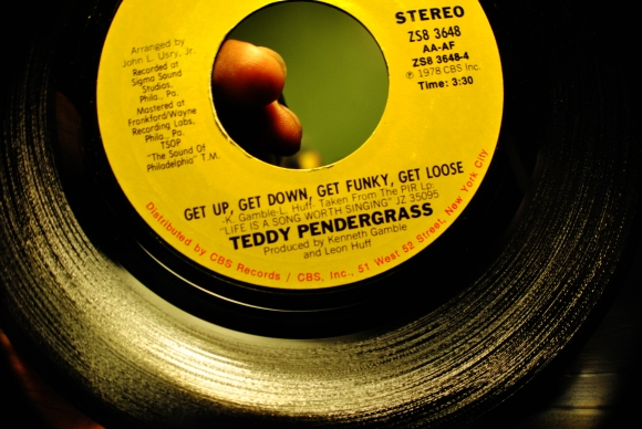 Get Up, Get Down, Get Funky, Get Loose by Teddy Pendergrass