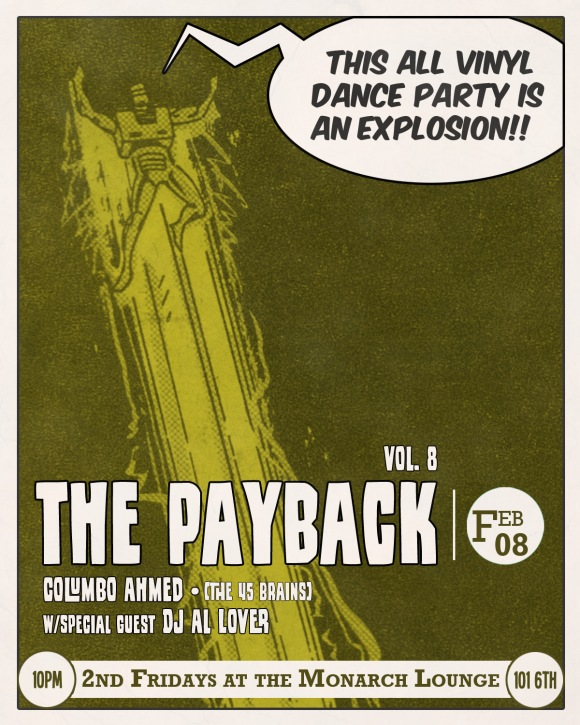 The Payback Vol 8 w/special guest Al Lover